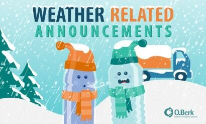 Weather Related Announcements