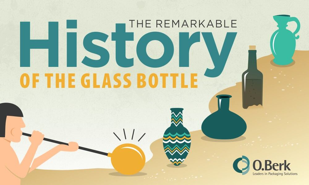 The Remarkable History of the Glass Bottle [Infographic]