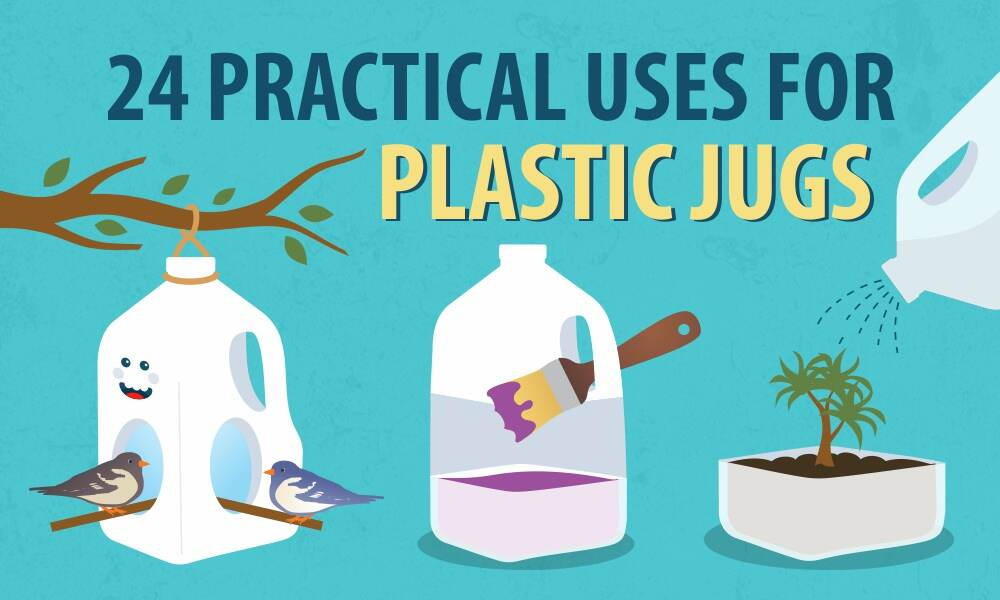 24 Practical Uses for Plastic Jugs – BottleStore com Blog