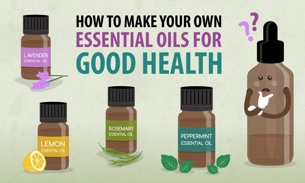 How to Make Your Own Essential Oils for Good Health