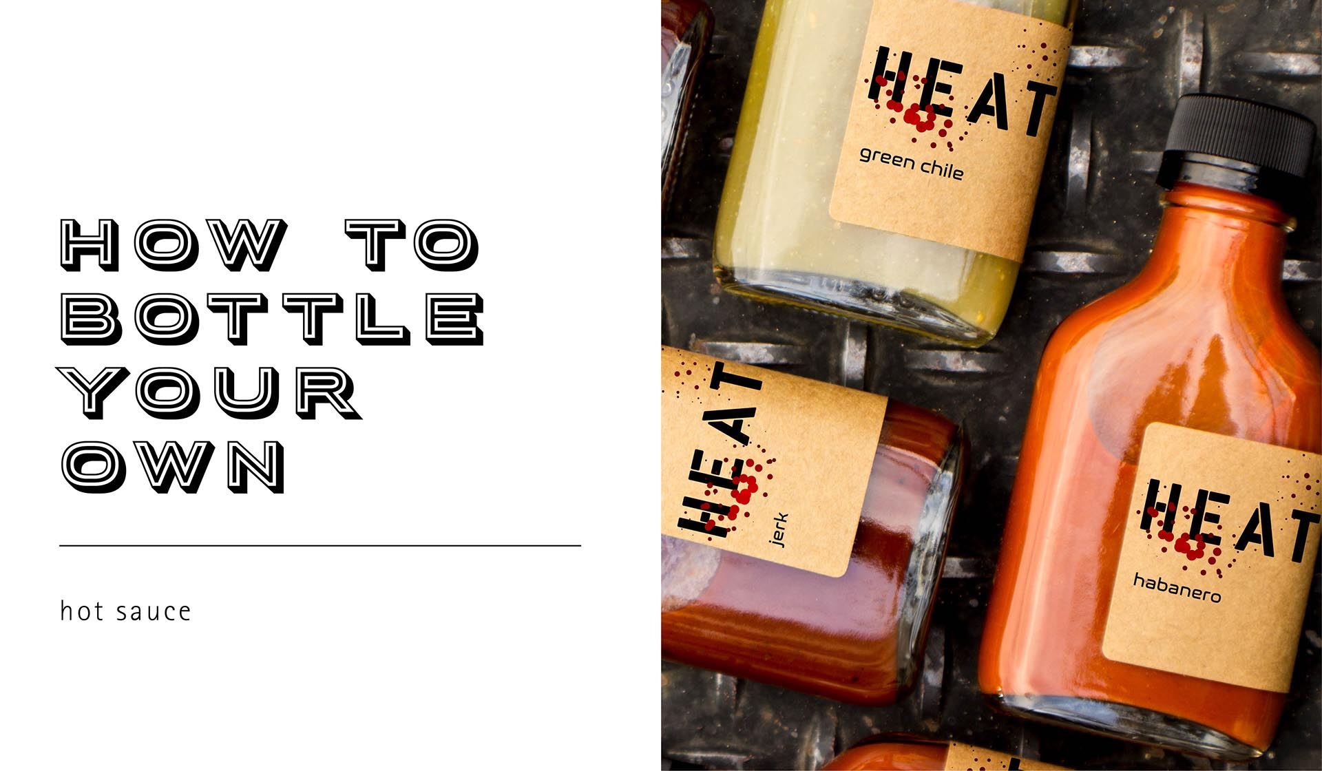 How To Bottle Your Own Hot Sauce
