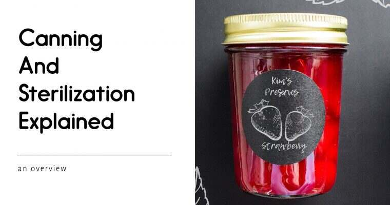Canning and Sterilization Explained