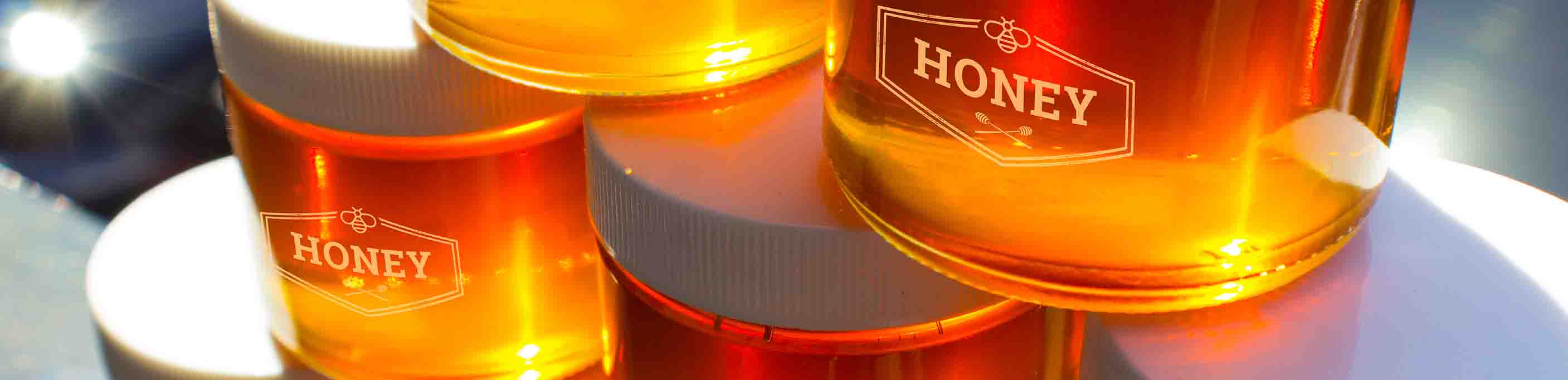 Straight Sided Honey Jars - 38