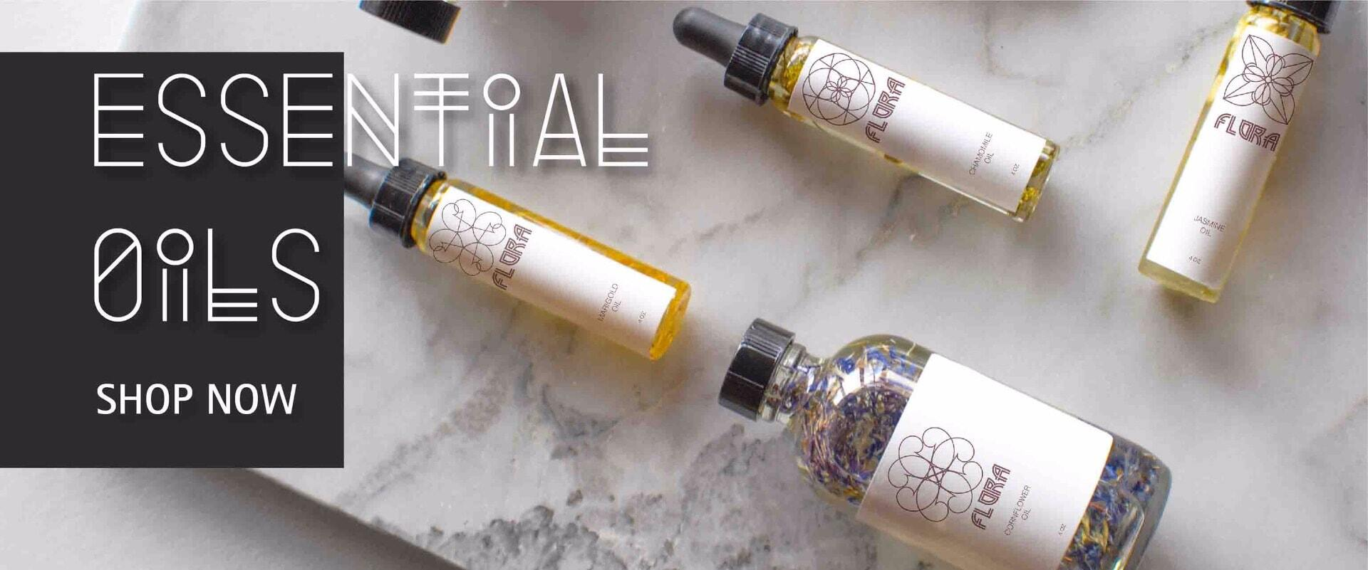 essential oils banner