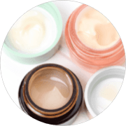 Skin Care Bottles and Jars